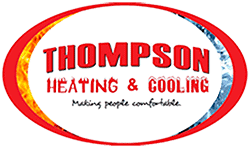 Thompson Heating and Cooling Logo